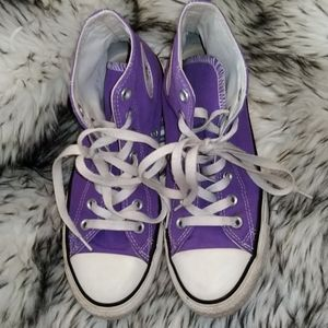 Converse All Star Chuck Taylor Purple High Tops